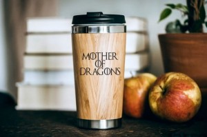 Gra o Tron - Mother of Dragons bambusowy kubek termiczny