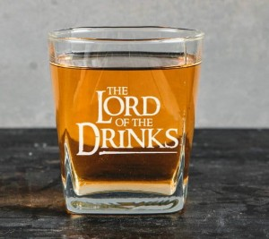 Lord of the drinks -szklanka do whiskey