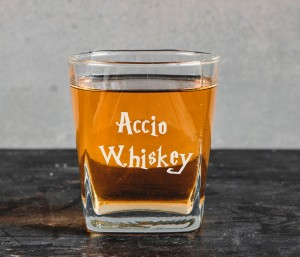 "Harry Potter ""Accio Whiskey"" szklanka do whiskey"