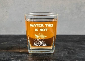 Water This Is Not -szklanka do whiskey  Yoda