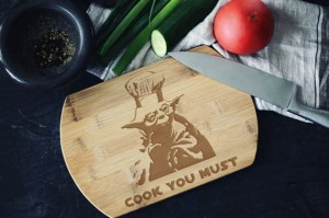 """Cook You Must"" Star Wars deska do krojenia"